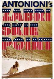 L'affiche du film Zabriskie point