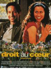 Affiche du film Droit au coeur