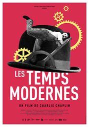 L'affiche du film Les Temps modernes