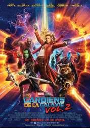L'affiche du film Les Gardiens de la Galaxie 2