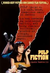 L'affiche du film Pulp fiction