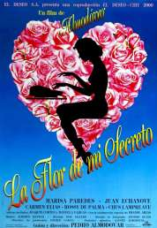 L'affiche du film La fleur de mon secret