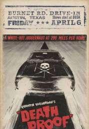 Affiche du film Boulevard de la mort  Grindhouse - 1ère séance