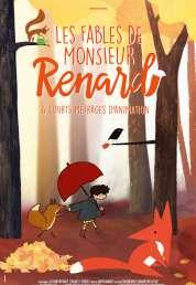L'affiche du film Les Fables de Monsieur Renard