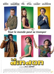 L'affiche du film Le Dindon