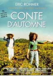 L'affiche du film Conte d'automne