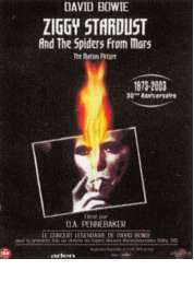 Affiche du film Ziggy Stardust and the Spiders from Mars