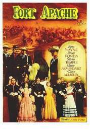 Affiche du film Le massacre de Fort Apache