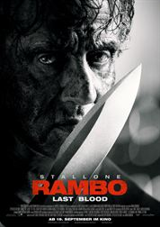 L'affiche du film Rambo: Last Blood