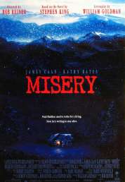 L'affiche du film Misery