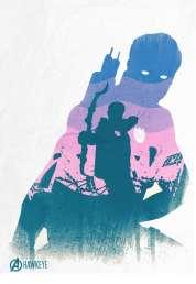 L'affiche du film Avengers