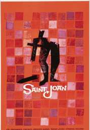 Affiche du film Sainte Jeanne