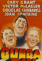 Affiche du film Gunga din