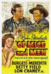 Affiche du film Des Souris et des Hommes