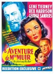 L'affiche du film L'aventure de Madame Muir