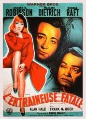 Affiche du film Manpower, L'Entraineuse fatale