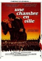 L'affiche du film Une chambre en ville