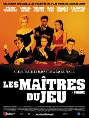 Affiche du film Shade, Les Maîtres du jeu