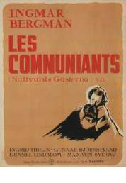 L'affiche du film Les communiants