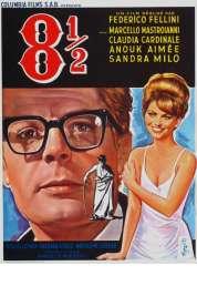 L'affiche du film Huit et demi