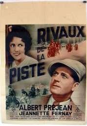 Affiche du film Rivaux de la Piste