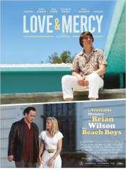 Affiche du film Love & Mercy, la véritable histoire de Brian Wilson des Beach Boys