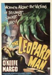 Affiche du film L'homme léopard