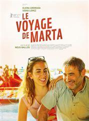 L'affiche du film Le Voyage de Marta
