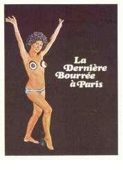 Affiche du film La Derniere Bourree a Paris