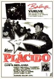 Affiche du film Placido
