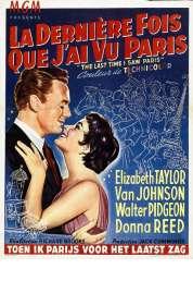 Affiche du film La Derniere Fois Que J'ai Vu Paris