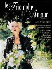 Affiche du film Le triomphe de l'amour