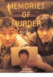 Affiche du film Memories of murder