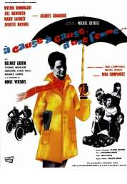 Affiche du film A cause... à cause d'une femme