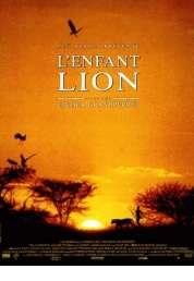 L'affiche du film L'enfant lion