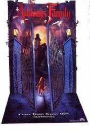 L'affiche du film La famille Addams