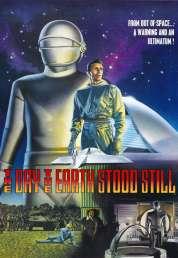 L'affiche du film Le jour où la terre s'arrêta