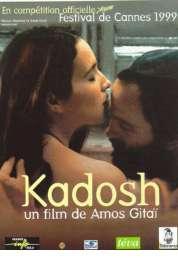 Affiche du film Kadosh (sacré)