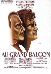 L'affiche du film Au grand balcon