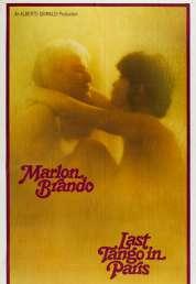 L'affiche du film Le dernier tango à Paris