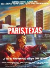 L'affiche du film Paris Texas