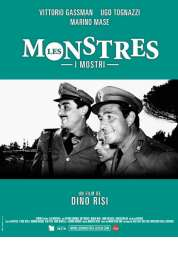 L'affiche du film Les monstres