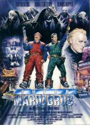 Affiche du film Super Mario Bros