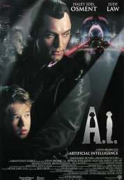 Affiche du film A.I. Intelligence Artificielle