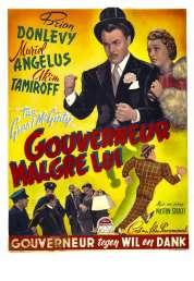 Affiche du film Gouverneur malgré lui