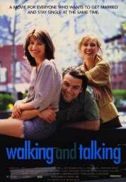 Affiche du film Walking and talking