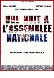 Affiche du film Une nuit à l'Assemblée Nationale