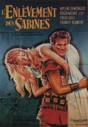 Affiche du film L'enlèvement des Sabines