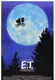 Affiche du film E.T l'extra-terrestre