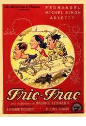 L'affiche du film Fric-frac